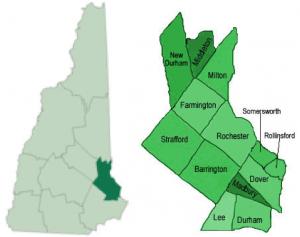 Strafford County inset